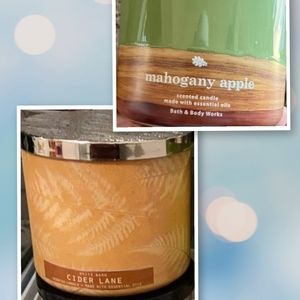 Bath and body works candle bundle